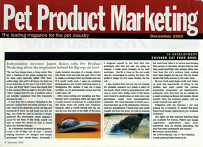 Pet Product Marketing Article